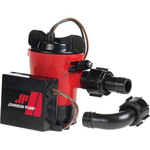 Johnson Pump 04504-00 Ultima Combo Pump, 500 GPH