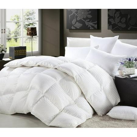 Full Queen Size Duvet Insert Goose Down Comforter 100