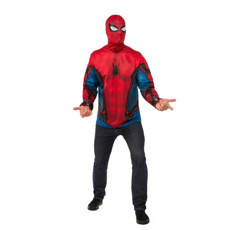 Spider-Man Homecoming - Spiderman Adult Costume Top (Homecoming Queen Costume)