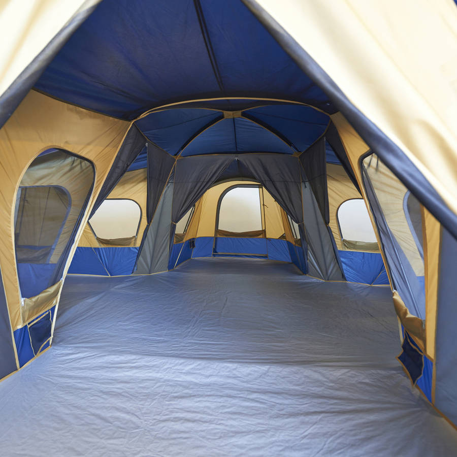 & Ozark Trail 14-Person 4-Room Base Camp Tent - Walmart.com