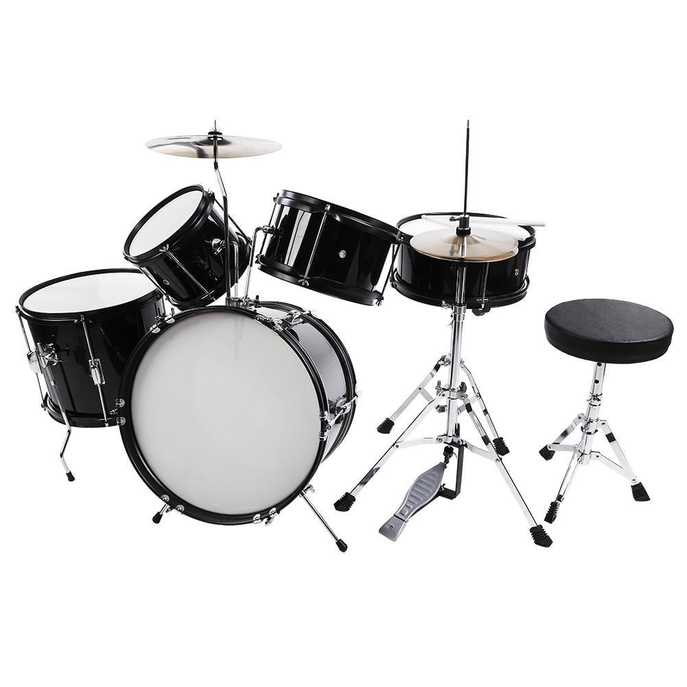 Lv Life 5pieces Junior Children Drum Kit Stool Drumsticks Pedal