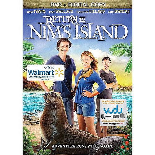 Return To Nim's Island (DVD + VUDU Digital Copy) (Walmart Exclusive)