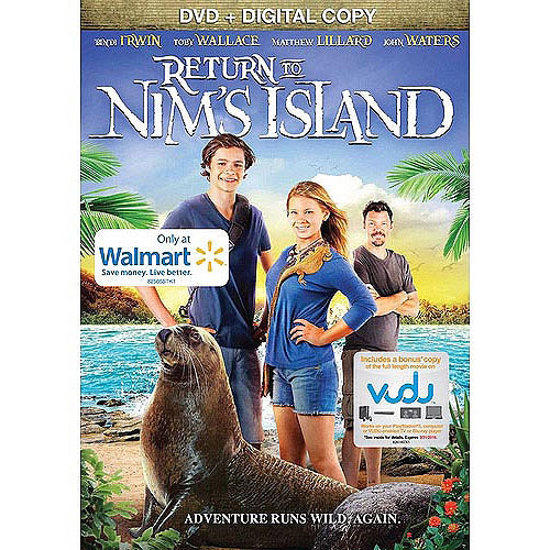 Return To Nim's Island (DVD + Digital Copy) (Walmart Exclusive)