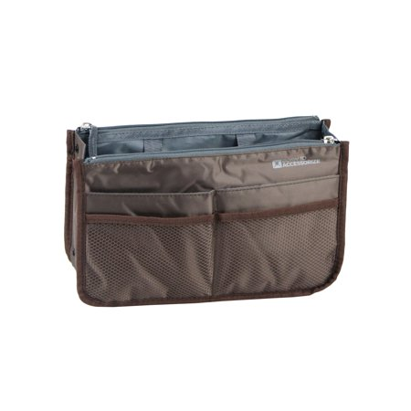 Premium Purse Organizer Perfect Handbag Insert To Keep Your Personal Essentials Organized Accessible 13 Pockets Study Durable