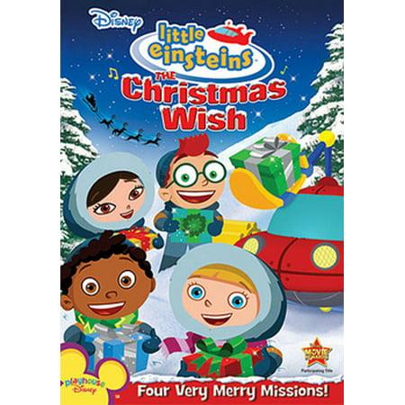The Christmas Wish.Little Einsteins The Christmas Wish Dvd