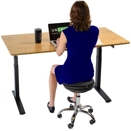 Wobble Stool Air Rolling Adjule Height Active Sitting Balance Ball Office Standing Stand Up