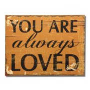 Adeco Trading ''You Are Always Loved'' Wall D cor
