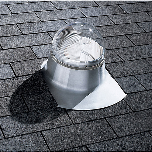 "ODL 10"" Aluminum Flashing Tubular Skylight Kit for Asphalt, Tile and Flat Roofs"