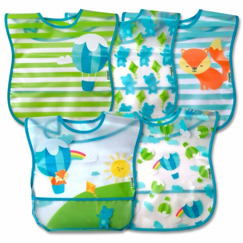 Green Sprouts(R) Wipe-off Bibs (Set of 5)