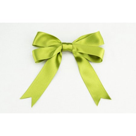 - Ribbon Bazaar Luxious Satin 1 inch Oasis Green 25 yards 100% Polyester Ribbon