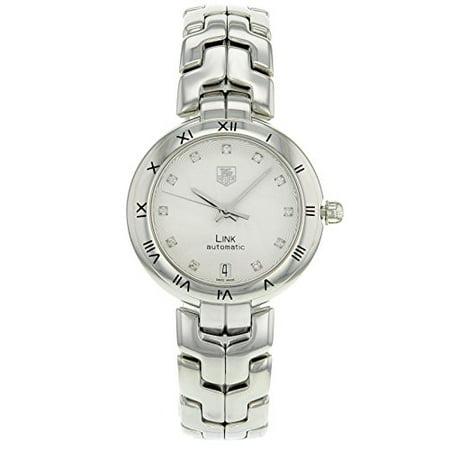 Tag Heuer Link Ladies Diamond Swiss Automatic Watch WAT2311.BA0956