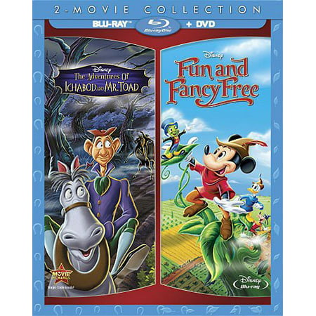 Adventures Of Ichabod & Mr. Toad / Fun & Fancy Free (2-Movie Collection) (Blu-ray +