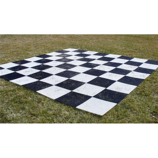 CNChess GCB15 Plastic Grid Chess Board by CNChess