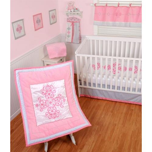 Sumersault Princess Crib Bedding 4 Piece Set