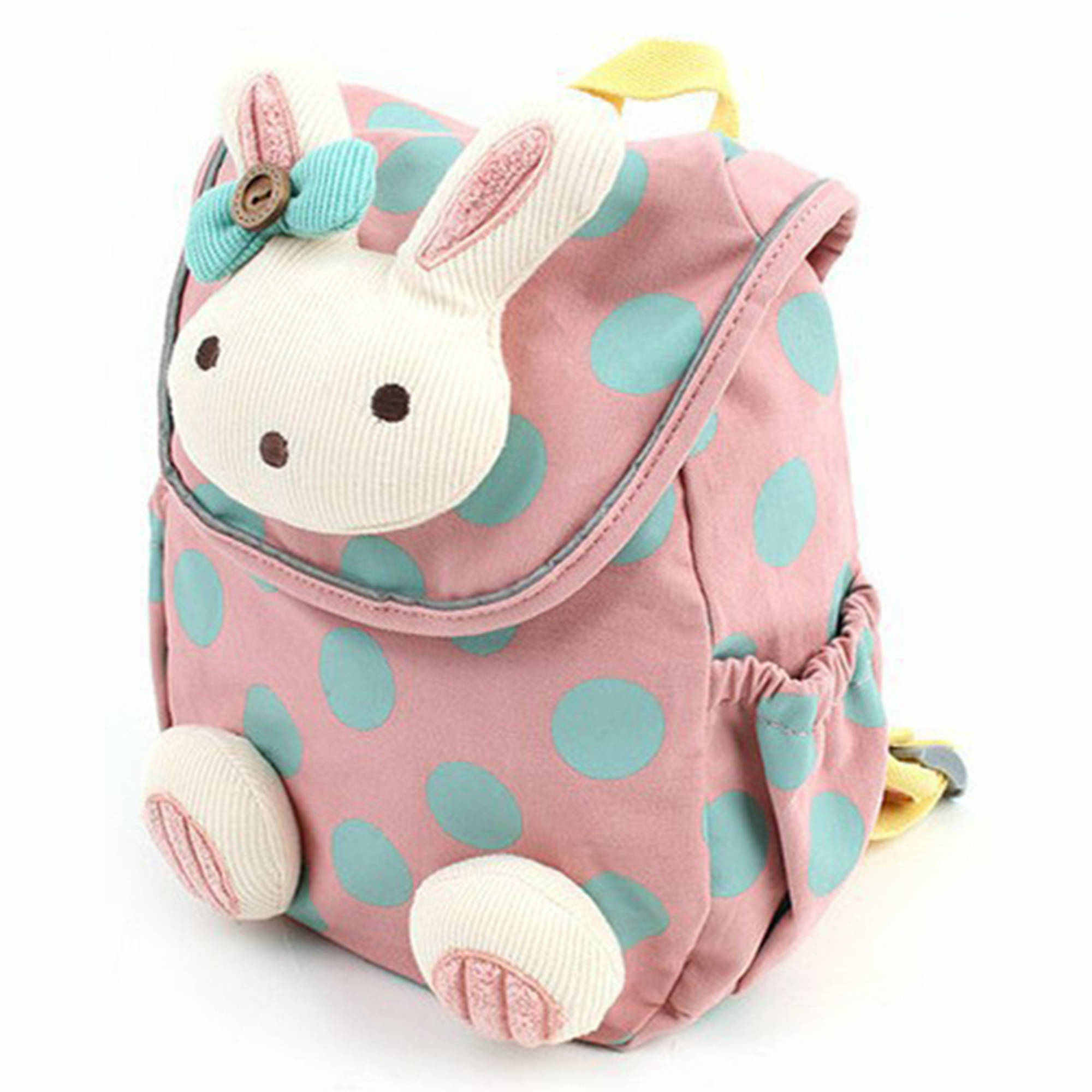 Durable Cute 3D Animal Rabbit Anti-lost Baby Backpack Toddler Kids School Bag