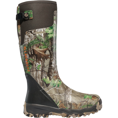 LaCrosse Alpha-Burly Pro Realtree Xtra Green Camo Hunting Boots Size 8 by LaCrosse Footwear