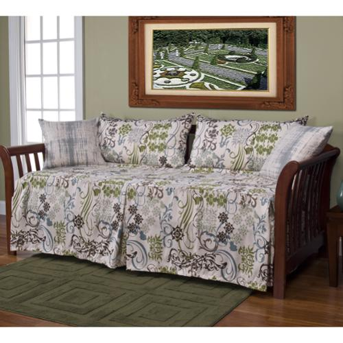 SIScovers Ornamental 5-piece Daybed Ensemble