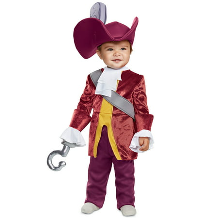 Red Captain Hook Jacket (Captain Hook Classic Infant)