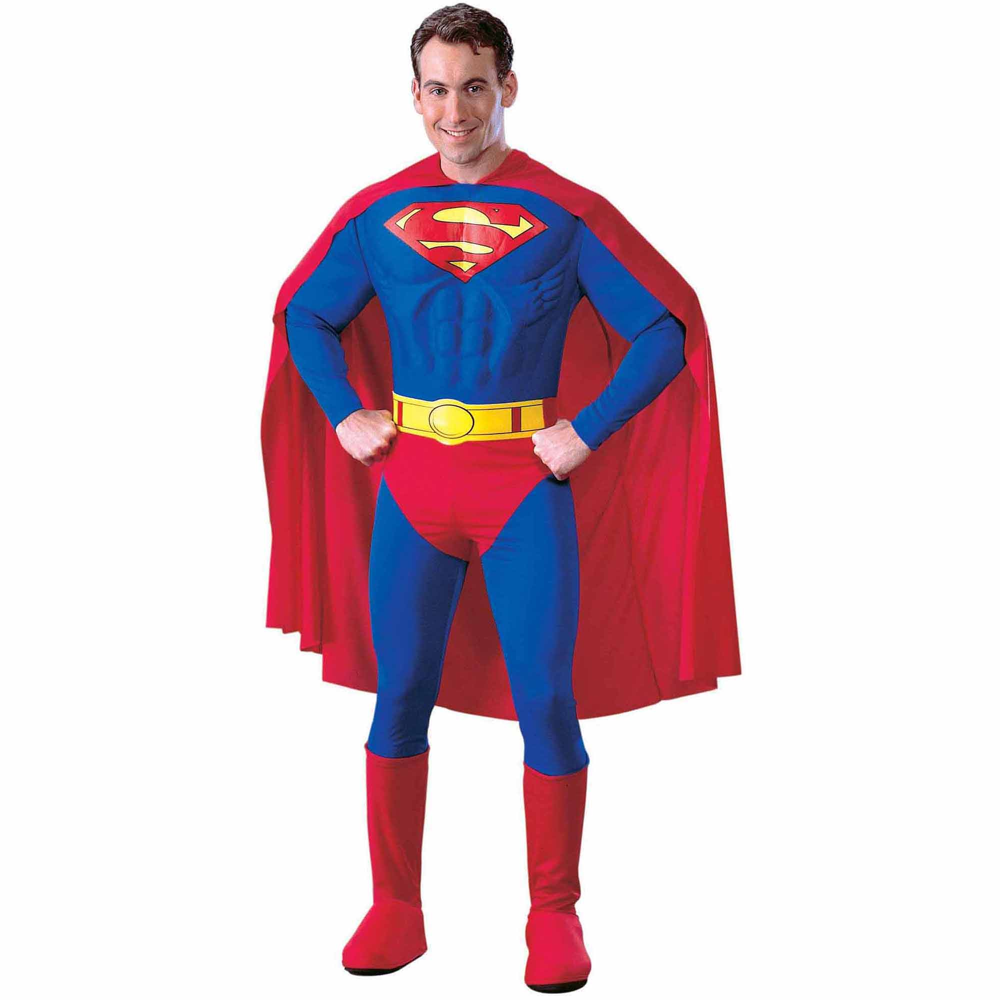 Superman Deluxe Adult Halloween Costume