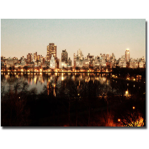 "Trademark Fine Art ""All Lit Up"" Canvas Wall Art by Ariane Moshayedi"