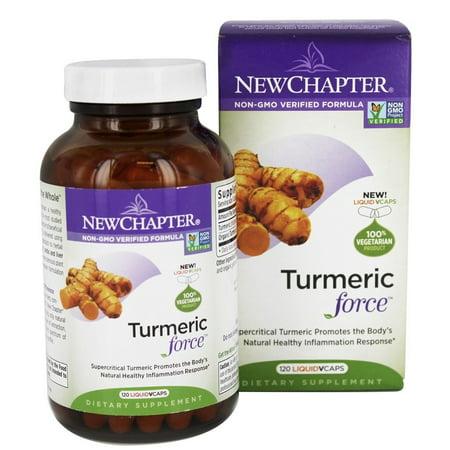 New Chapter   Turmeric Force   120 Vegetarian Capsules