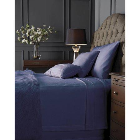 Hotel Style Blanket Bedding Blanket  Full Queen King  Dark Iris