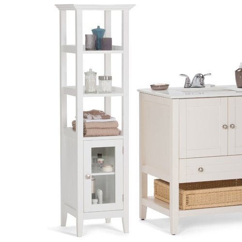Delicieux Simpli Home Acadian Bath Storage Tower