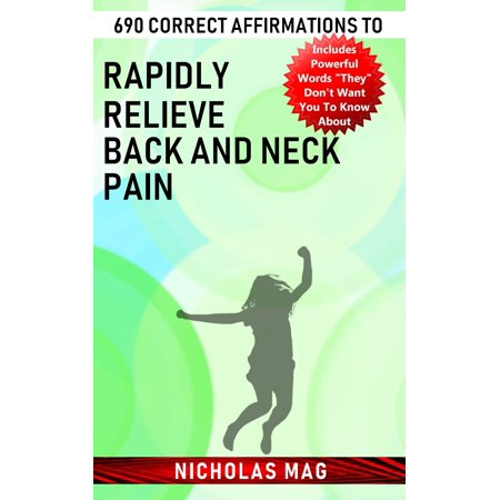 690 Correct Affirmations to Rapidly Relieve Back and Neck Pain - (Wby Mag Neck)
