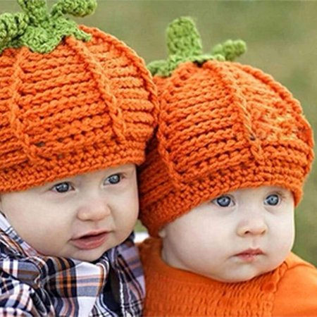 Crochet Pumpkin Hat - cnmodle Cuteborn Baby Halloween Party Pumpkin Hat Crochet Knitted