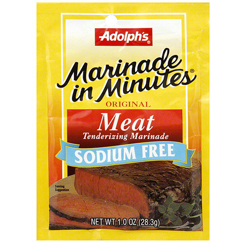 Image of Adolph's Original Meat Sodium Free Tenderizing Marinade, 1 oz (Pack of 24)