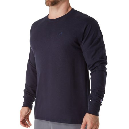 Champion T2978 Classic Athletic Fit Jersey Long Sleeve Tee Classic Long Sleeve Jersey