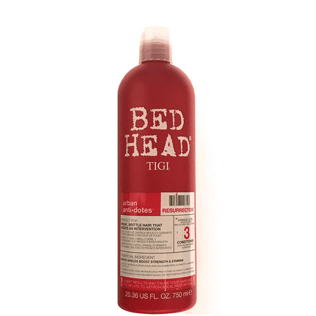 Tigi Bed Head Resurrection Conditioner 25.36 Oz, For Weak And Brittle Hair