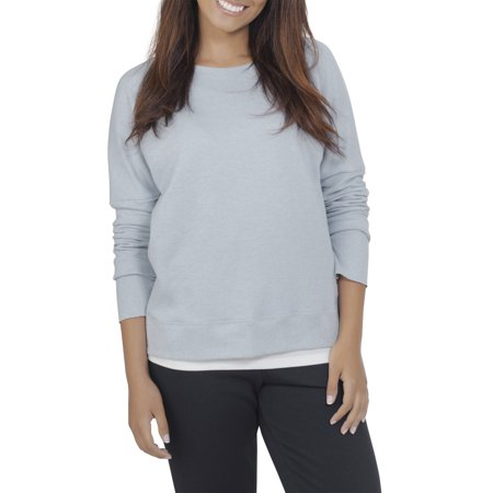 Fruit of the Loom Womens Athleisure Essential French Terry Sweatshirt