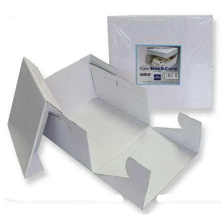PME Sugarcraft Cake Box - 18 x 18 x 6 - 2 pc - image 1 of 1