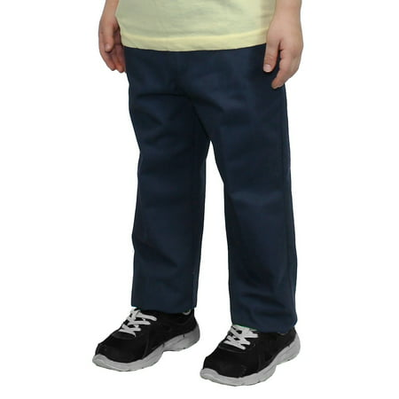 Boy's Flat Front School Uniform - Back To School Kids Clothes