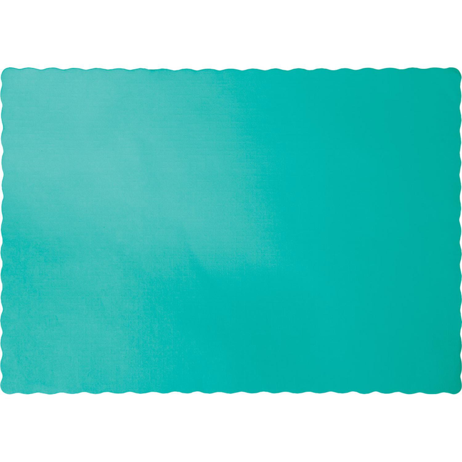 Teal Lagoon Placemats 50 Pack by CREATIVE CONVERTING