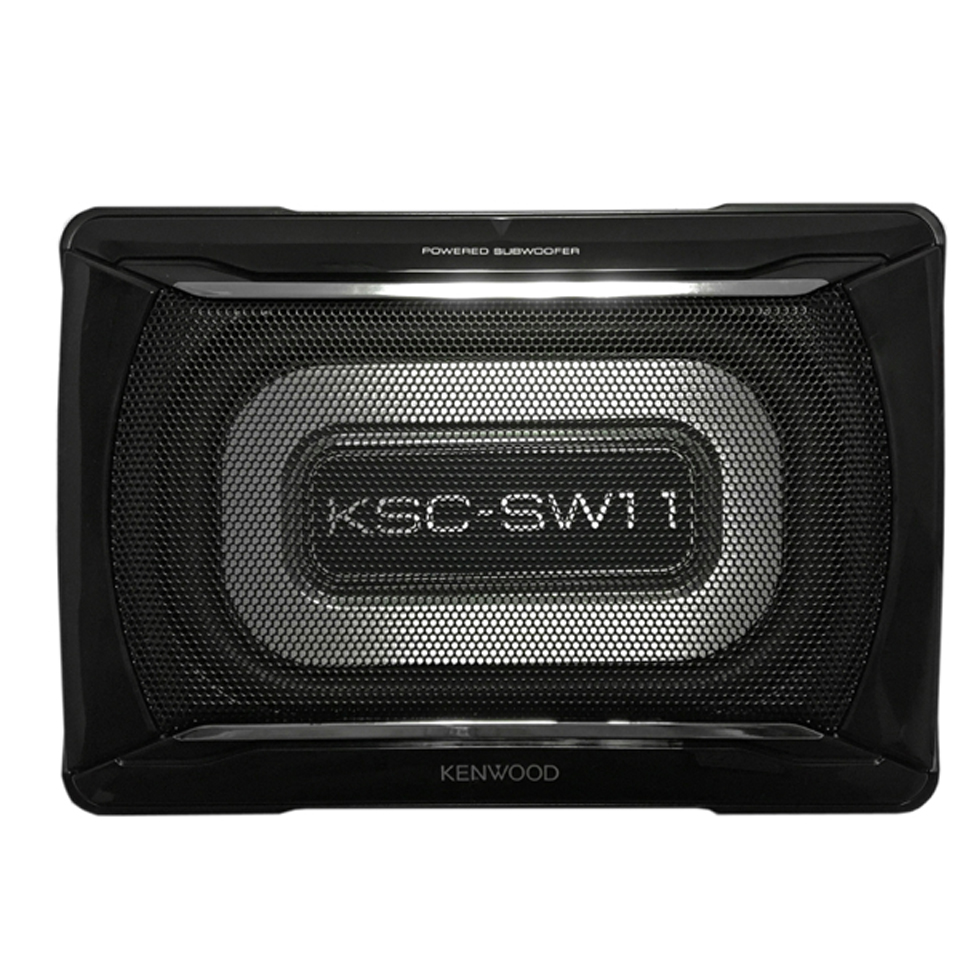 Kenwood KSC-SW11 150W w/ Bass Remote Compact Powered Subwoofer 150W MAX