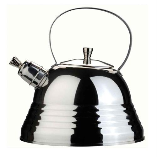 Whistling Tea Kettle in Silver