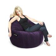 Elite XL Faux Suede Foam Sitsational Bean Bag Chair