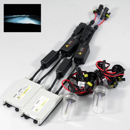 ModifyStreet® H11 35W Slim AC Canbus Ballast Xenon HID Conversion on h11 relay harness, h4 conversion harness, hid connectors, 2001 mustang fog light wire harness, hid lights, hid wiring to a 02 impala, 2001 chevy silverado headlight wire harness, hid relay, hid kit wiring, hid controller, hid headlights,