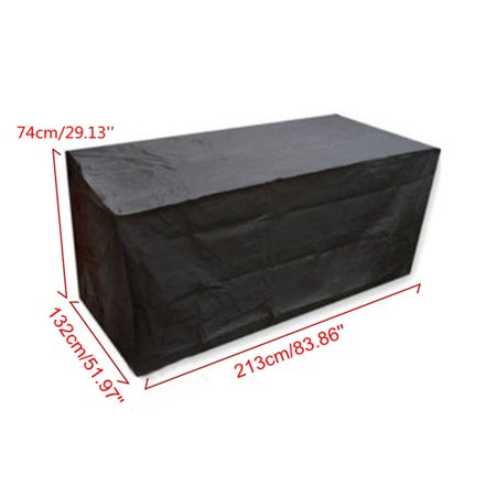 Garden Patio Table Cover Waterproof Outdoor Furniture Shelter Large Size - image 2 de 5