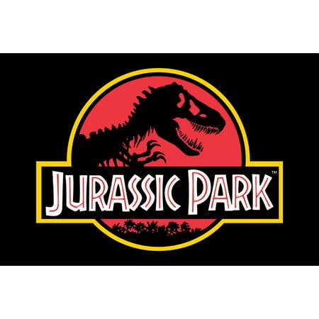Jurassic Park - Movie Poster / Print (Classic Jurassic Park Logo) (Size: 36
