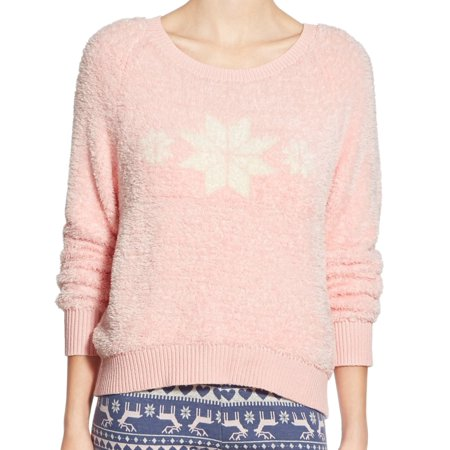 Make   Model Nordstrom New Pink Womens Xs Scoop Neck Sweater