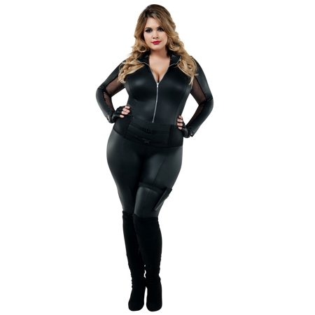 Secret Agent Plus Costume (Women's Fbi Agent Costume)