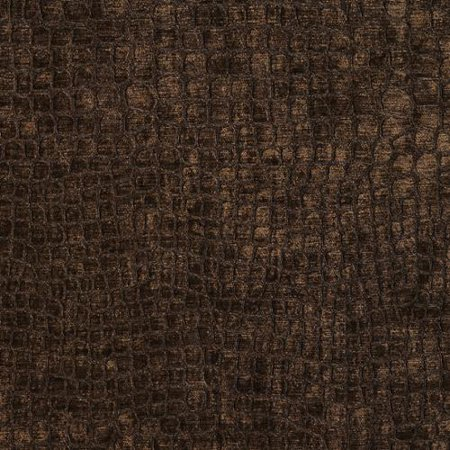 Discounted Designer Fabrics A0151f Brown Textured Alligator Shiny