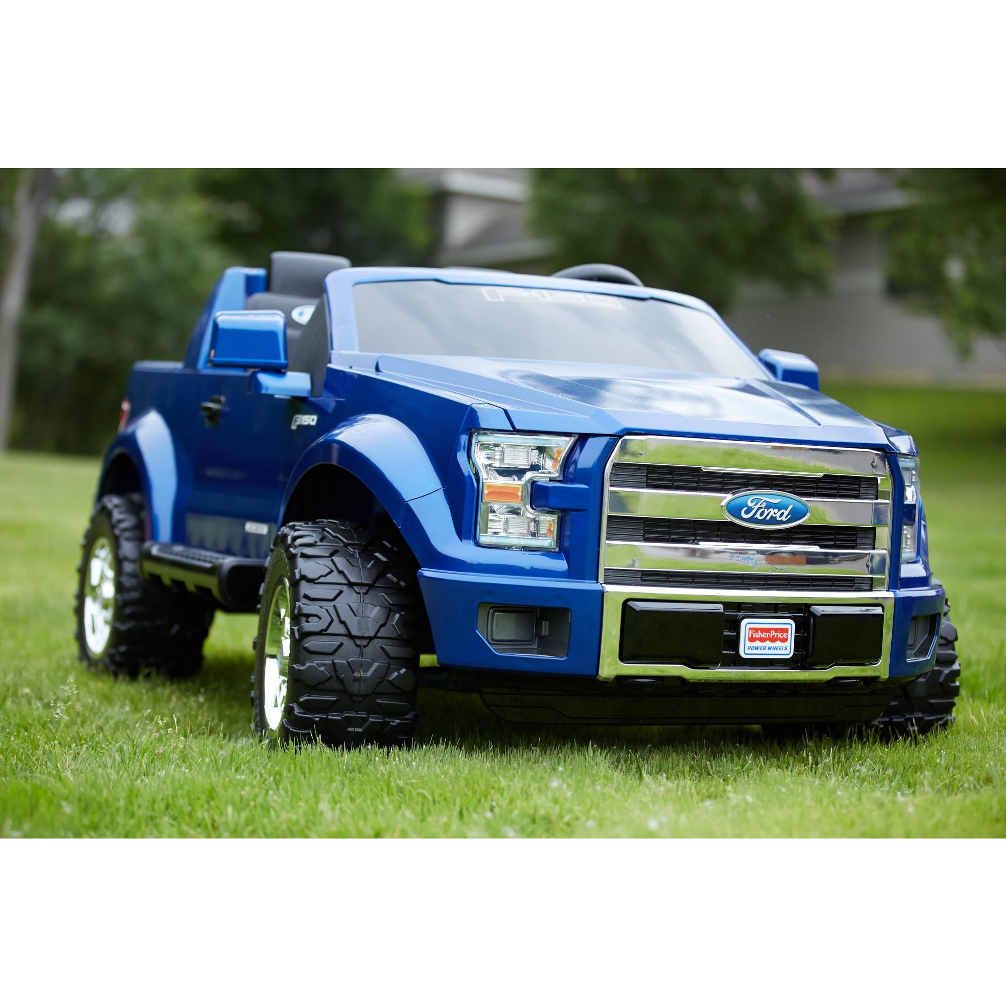 power wheels ford f 150 12 volt battery powered ride on walmart com rh walmart com Power Wheels Porsche Power Wheels Jeep