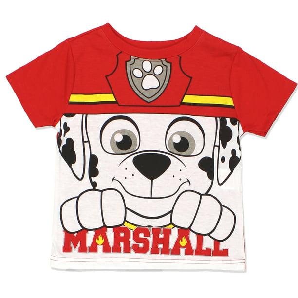 Toddler Girls Paw Patrol Beach Patrol Pups Tee Shirt 2T 4T