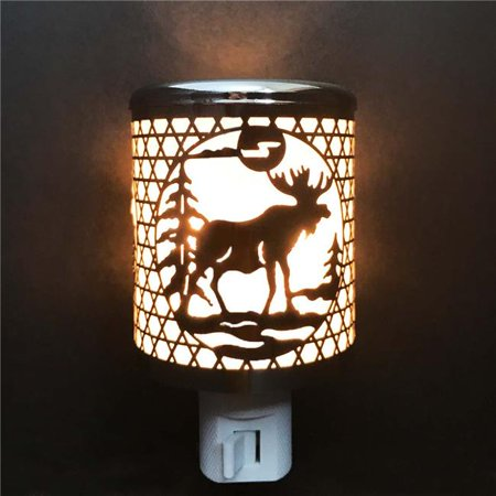 ACE NL 1095 Aluminum Crafted LED Night Light - Deer Ace Hardware Led Lights