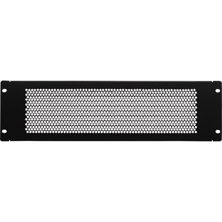 19 Inch 3u Rackmount - Navepoint 3U Blank Rack Mount Panel Spacer With Venting For 19-Inch Server Network Rack Enclosure Or Cabinet Black