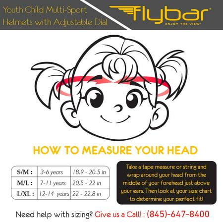 Flybar Junior Sports Helmet - Medium, Orange